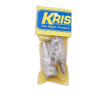 KRISBOW COUPLER 6 MM 2 PCS 20SH_1