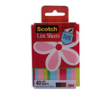 3M SCOTCH LINT SHEET POCKET PACK 40 PCS_1