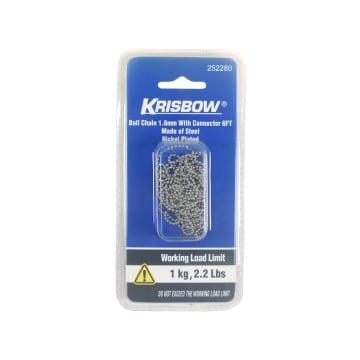 KRISBOW RANTAI DEKORASI 1.6 MM - SILVER_1