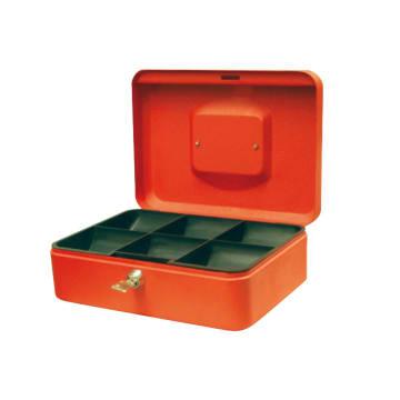 KRISBOW CASH BOX 25X18X9 CM - ORANYE_1