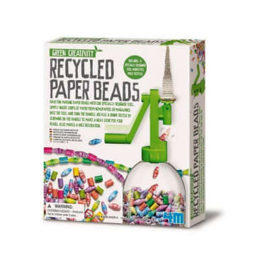 4M GREEN CREATIVITY RECYCLED PAPER BEADS_1
