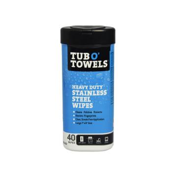 TUB O TOWELS TISU BASAH PEMBERSIH STAINLESS STEEL 40 PCS_1