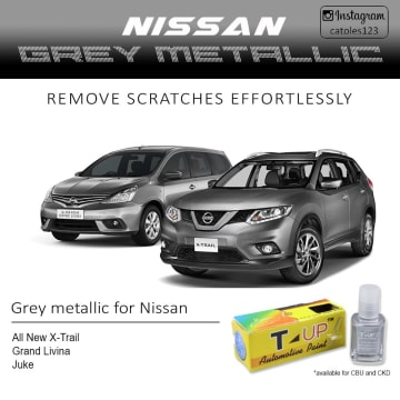 T-UP CAT OLES PENGHILANG GORESAN NISSAN - GREY MET_2