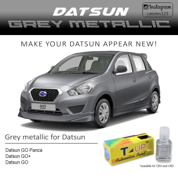 T-UP CAT OLES PENGHILANG GORESAN NISSAN - GREY MET_3