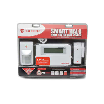 RED SHIELD SET ALARM SMART HALO SERIES  - PUTIH_1