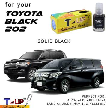 T-UP CAT OLES PENGHILANG GORESAN & BARET (DEEP SCRATCH) TOYOTA - BLACK X13-202 SOLID_6