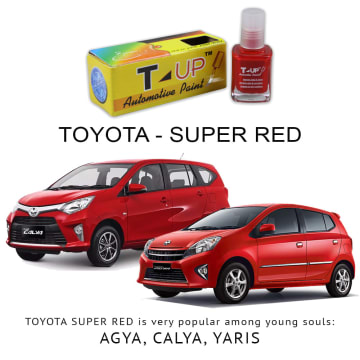 T-UP CAT OLES PENGHILANG GORESAN & BARET (DEEP SCRATCH) TOYOTA - SUPER RED V_1