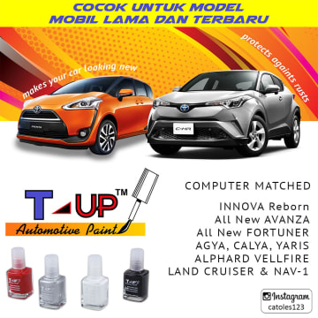 T-UP CAT OLES PENGHILANG GORESAN TOYOTA - DARK GREY 1G3_3