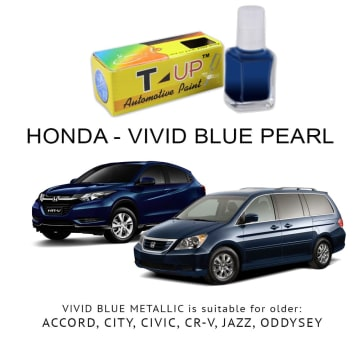 T-UP CAT OLES VIVID BLUE METALLIC PENGHILANG GORES HONDA 18 ML_1