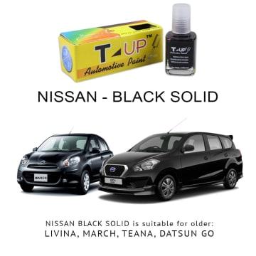 T-UP CAT OLES PENGHILANG GORESAN NISSAN - BLACK SOLID_1