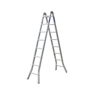 KRISBOW TANGGA LIPAT ALUMINIUM TWO JOINT 8 STEP_1