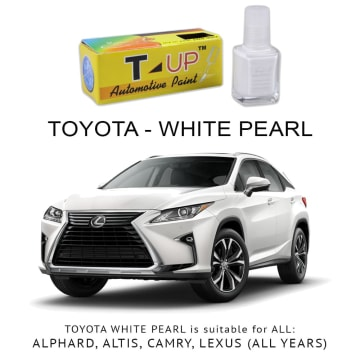 T-UP CAT OLES PENGHILANG GORESAN TOYOTA - WHITE PEARL CRYSTAL_2