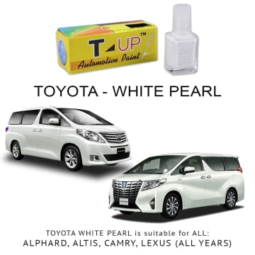 T-UP CAT OLES PENGHILANG GORESAN TOYOTA - WHITE PEARL CRYSTAL_1