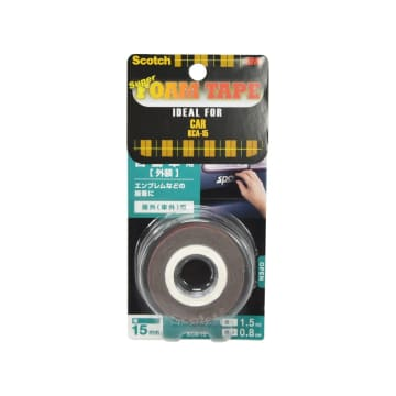 SCOTCH DOUBLE SIDED FOAM TAPES UNTUK PERMUKAAN MOBIL_1