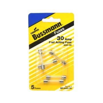 BUSSMANN SEKRING TABUNG 30 AMP 5 PCS_1