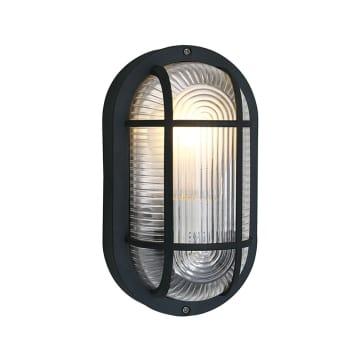 EGLO ANOLA LAMPU DINDING OVAL - HITAM_1
