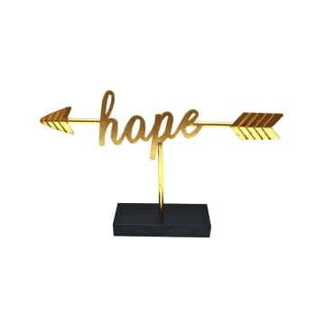 MINIATUR DEKORASI HOPE - GOLD_1