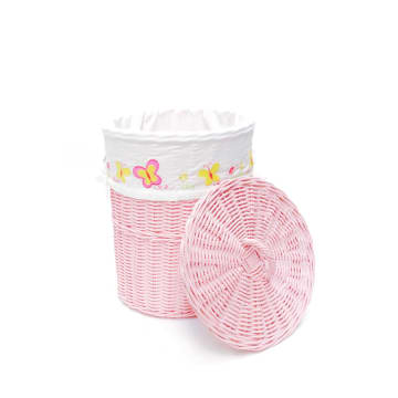 THE STORAGE SHOPPE HAMPER MINI - PINK_1