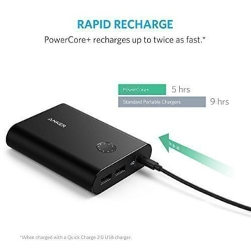 ANKER POWERCORE+ 13400 WITH QUICK CHARGER 3.0 - BLACK_4