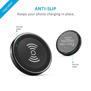 ANKER POWERPORT QI WIRELESS CHARGER - BLACK_3