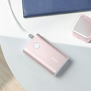 ANKER POWERCORE+ 10050 WITH QUCIK CHARGER - PINK_5