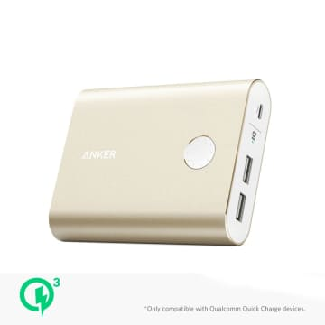 ANKER POWERCORE+ 13400 WITH QUICK CHARGER 3.0 - GOLD_1