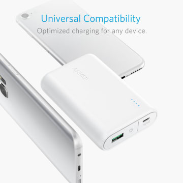 ANKER POWERCORE 10000 QUICK CHARGER 3.0 - PUTIH_2