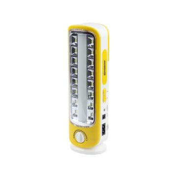 KRISBOW LAMPU DARURAT RECHARGEABLE 5W - KUNING_1