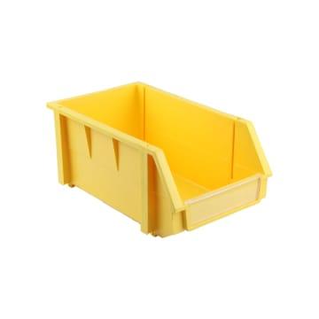 KOTAK PERKAKAS PLASTIK 20X34X15.5 CM - KUNING_1