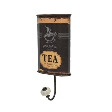 GANTUNGAN DINDING SERBAGUNA MOTIF TEA - COKELAT_2