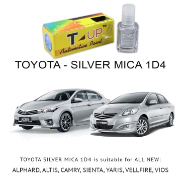 T-UP CAT OLES PENUTUP BARET - SILVER MICA METALLIC 1D4 FOR TOYOTA_1