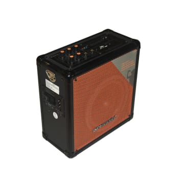 PURE ACCOUSTICS AMPLIFIER OUTDOOR MCP-50 - HITAM/ORANYE_2