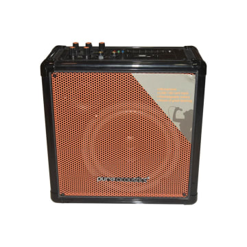PURE ACCOUSTICS AMPLIFIER OUTDOOR MCP-50 - HITAM/ORANYE_1