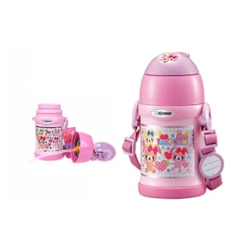 ZOJIRUSHI BOTOL TERMOS TWO WAY SC-ZS 45 PA 450 ML - PINK_2