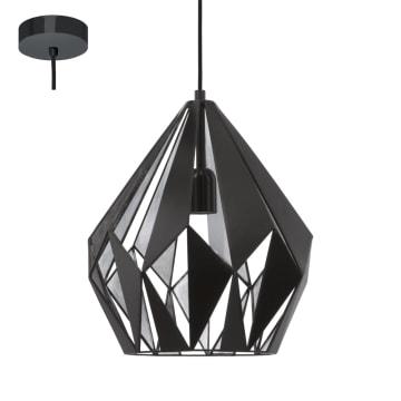 EGLO LAMPU GANTUNG HIAS CARLTON1 D31 - HITAM_1