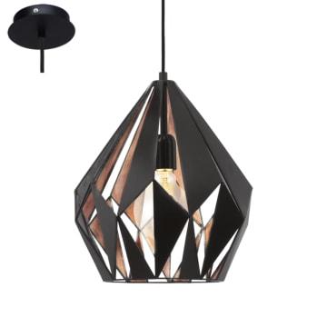 EGLO LAMPU GANTUNG HIAS CARLTON1 D31 - COPPER / HITAM_1