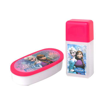 DISNEY FROZEN THE FIRST SANWA SET TEMPAT MAKAN 2 PCS_1