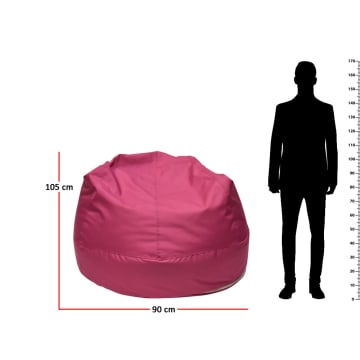 BEAN BAG 90X105 CM - PINK_3