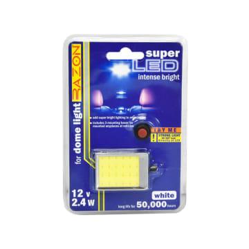 RAZON LAMPU KABIN MOBIL LED DENGAN ADAPTOR 2.4 W - PUTIH_1