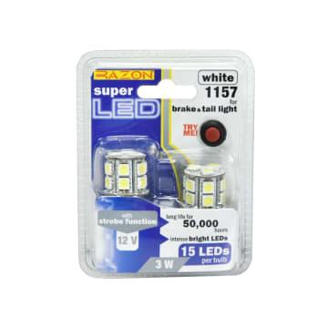 RAZON SET LAMPU REM DAN TAIL LIGHT MOBIL LED 3W - PUTIH_1