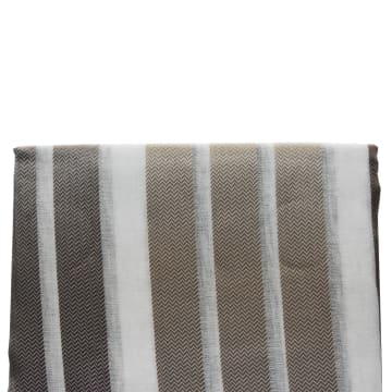 KAIN GORDEN STRIPE DOLY 140X250 CM - COKELAT_4