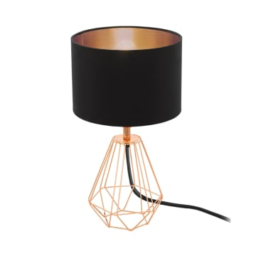 EGLO LAMPU MEJA CARLTON2 - HITAM_1