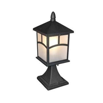 EGLARE RUMAH LAMPU TAMAN FUJI E27 - HITAM_1