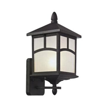 EGLARE LAMPU DINDING FUJI UPSIDE E27 - HITAM_1