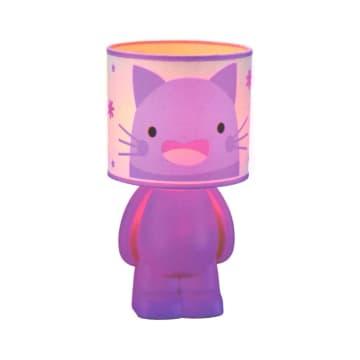 EGLARE LAMPU MEJA CUTE CAT E14 - PINK_1