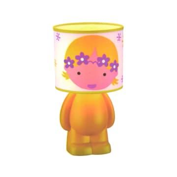 EGLARE LAMPU MEJA  FLOWER GIRL E14 - KUNING_1