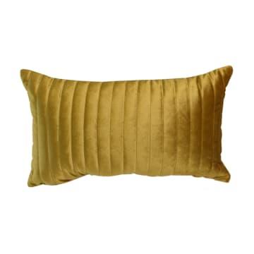 SARUNG BANTAL SOFA VELVET TRELLIS - GOLD_3