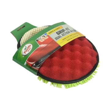 TURTLE WAX LAP MICROFIBER GRIP IT DUAL ACTION WASH_2