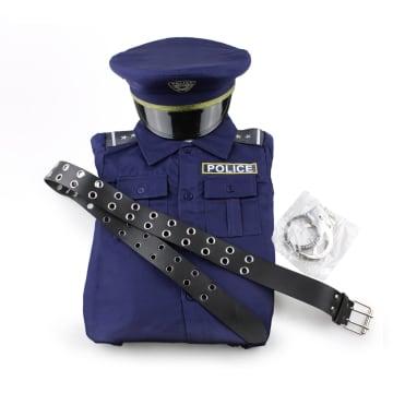 ARTPRO KOSTUM POLISI UKURAN 4 - BIRU_1
