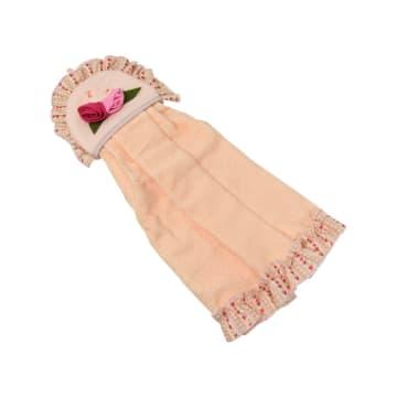 ARTHOME KAIN LAP TANGAN FLOWER - PINK_2